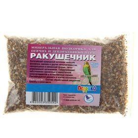 Минеральная подкормка 'Ракушечник' для птиц, п/э пакет, 100 г Ош