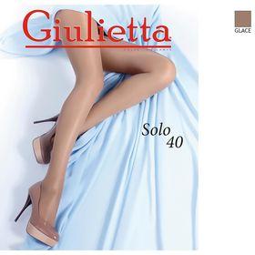 Колготки женские Giulietta SOLO 40 цвет бронзовый загар (glace), р-р 3 Ош