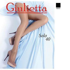 Колготки женские Giulietta SOLO 40 ден цвет чёрный (nero), размер 3 Ош