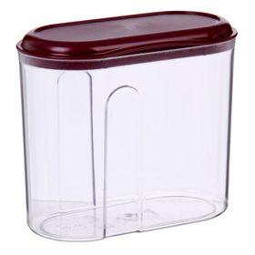 Ёмкость для сыпучих продуктов phibo, 1 л, цвет МИКС