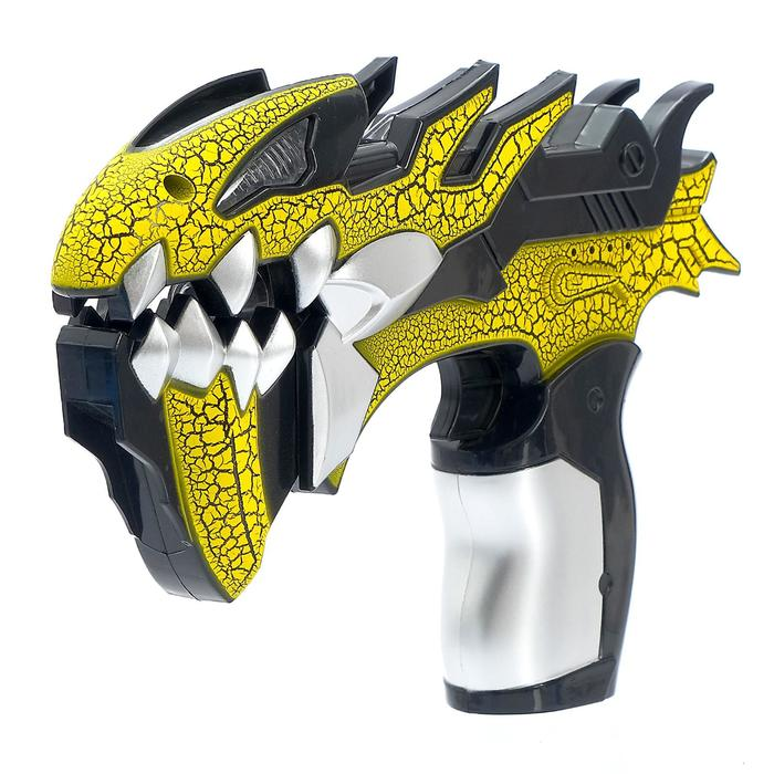 """Пистолет """"Атака монстров"""", световые и звуковые эффекты, работает от батареек, цвета МИКС"""