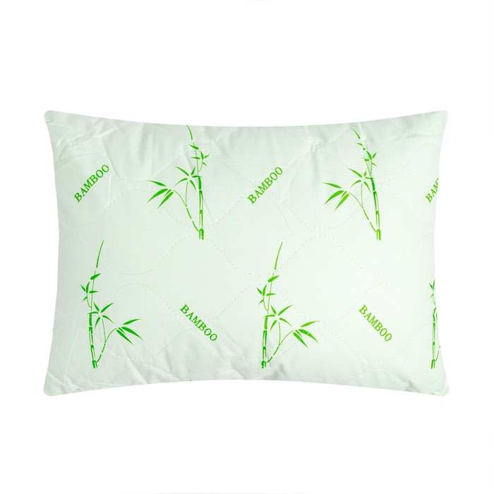 "Подушка Адамас ""Бамбук"", размер 40х60 см, бамбуковое волокно, чехол тик"
