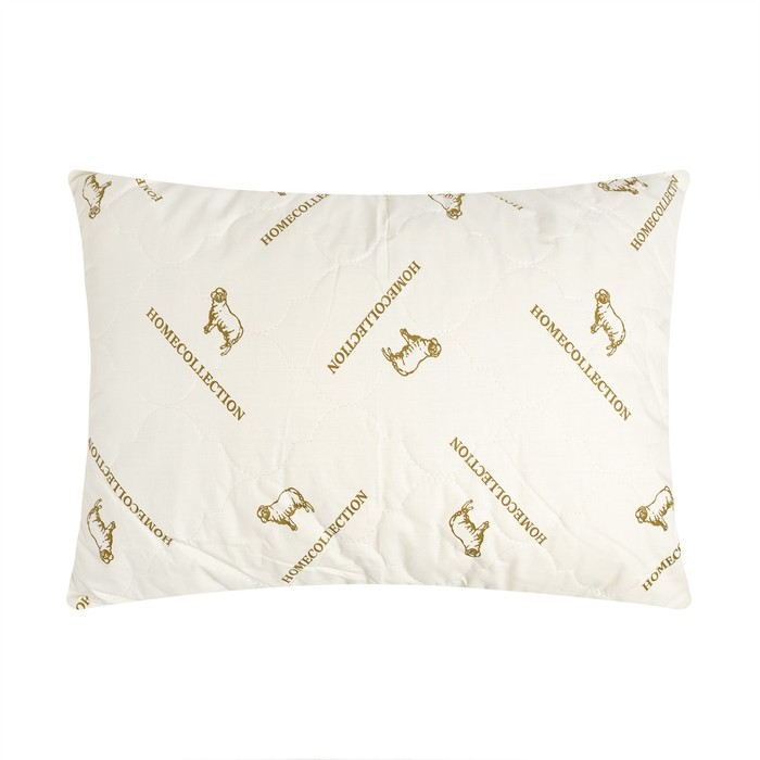 "Подушка Адамас ""Овечья шерсть"", размер 40х60 см, чехол тик"