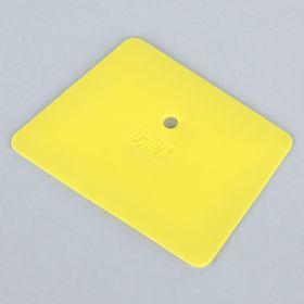 Скребок универсальный, ширина 10.5 см, желтый Ош