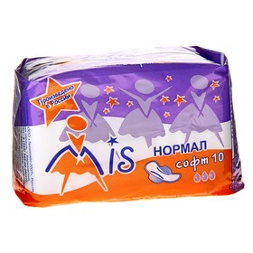Прокладки 'Mis' Normal Soft, 10 шт Ош
