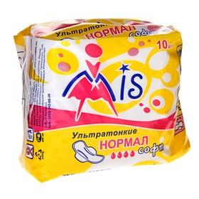 """Прокладки Mis Ультратонкие """"Normal Soft"""" 10 шт"""