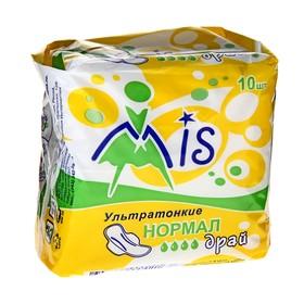 """Прокладки """"Mis"""" Ультратонкие, Normal Dry, 10 шт"""