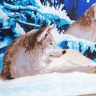 """Постельное бельё Традиция """"Волки"""" 1,5 сп., размер 147х215 см, 150х220 см, 70х70 см - 2 шт., 125 г/м2 - Фото 3"""