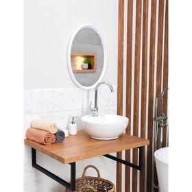 Зеркало 'Sonata', цвет снежно-белый Ош