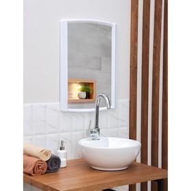 Зеркало 'Бордо', цвет снежно-белый Ош