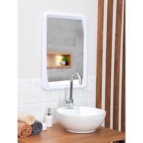 Зеркало 'Версаль', цвет снежно-белый Ош