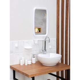Набор для ванной комнаты 'Optima', цвет белый Ош