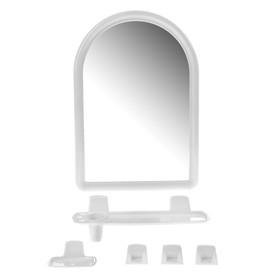 Набор для ванной комнаты 'Berossi 56', цвет белый Ош