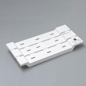 Сиденье для ванны, цвет белый Ош