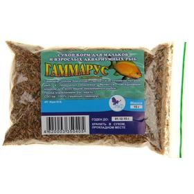 Корм для рыб Гаммарус (измельченный), 15 г
