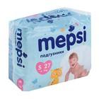 Подгузники Mepsi-премиум S (4-9 кг), 27 шт