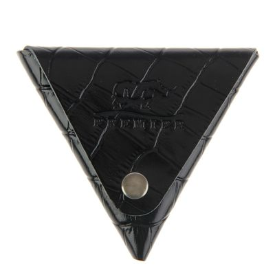 Футляр для монет на кнопке, цвет чёрный - Фото 1