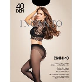 Колготки женские INCANTO, цвет nero (чёрный), размер 2 (арт. Bikini 40)