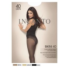 Колготки женские INCANTO Bikini 40 den, цвет чёрный (nero), размер 3