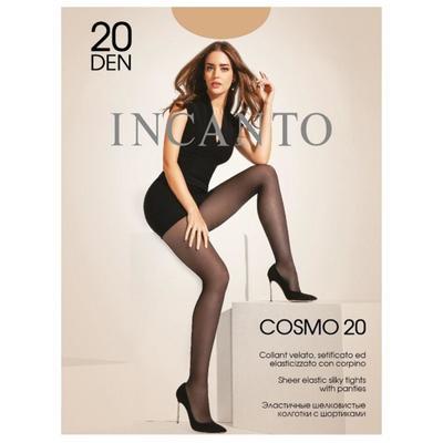 Колготки женские INCANTO Cosmo 20 ден, цвет чёрный (nero), размер 3 - Фото 1