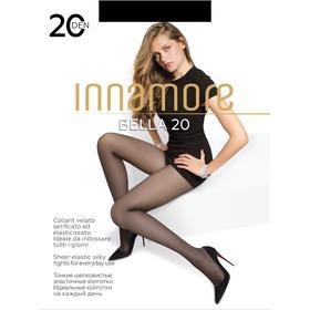 Колготки женские INNAMORE Bella 20 ден, цвет чёрный (nero), размер 3
