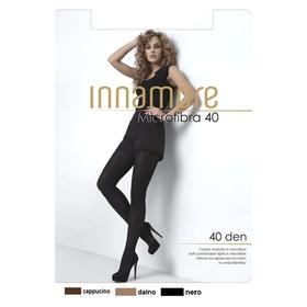 Колготки женские INNAMORE Microfibra 40 den, цвет чёрный (nero), размер 4
