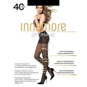 Колготки женские INNAMORE Ottima 40 den, цвет чёрный (nero), размер 5