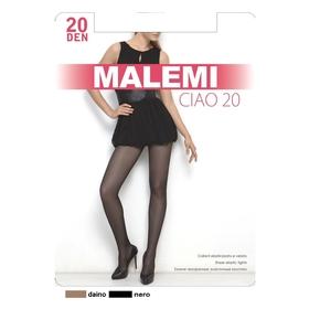 Колготки женские MALEMI Ciao 20 den, цвет чёрный (nero), размер 2