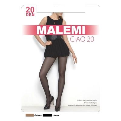 Колготки женские MALEMI Ciao 20 den, цвет чёрный (nero), размер 2 - Фото 1