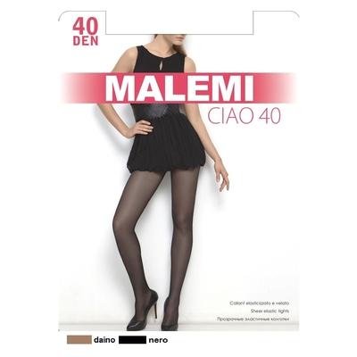 Колготки женские MALEMI Ciao 40 den, цвет чёрный (nero), размер 2 - Фото 1