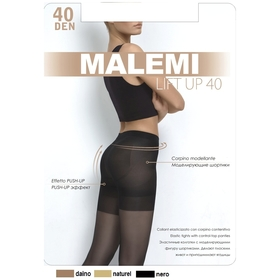 Колготки женские MALEMI Lift Up 40 den, цвет загар (daino), размер 3