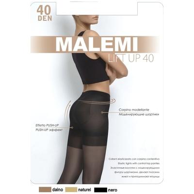 Колготки женские MALEMI Lift Up 40 den, цвет чёрный (nero), размер 2 - Фото 1