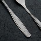 Вилка столовая «Силуэт», h=19,7 см, толщина 1 мм, упрощённая обработка - Фото 2