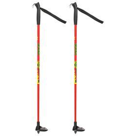 Палки лыжные стеклопластиковые, детские, 70 см, цвета МИКС Ош