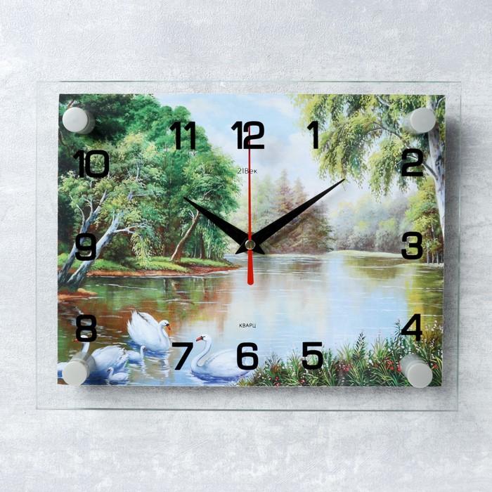 Часы настенные, серия Природа, Природа микс 20х26 см
