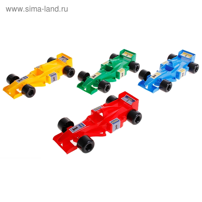 Машина «Формула», цвета МИКС