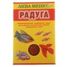"""Корм для рыб """"Аква Меню. Радуга"""", 25 г"""