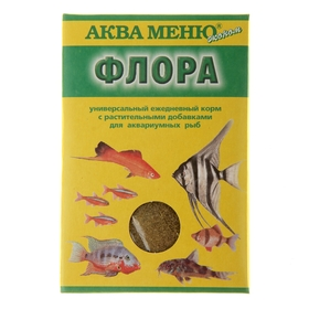 Корм для рыб 'Аква Меню. Флора', 30 г Ош