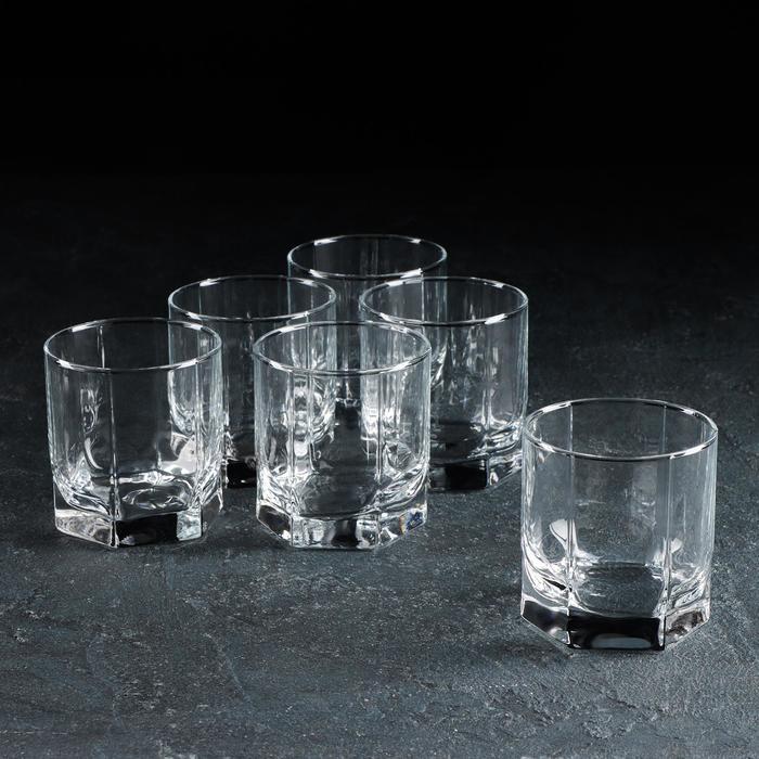 "Набор стаканов для виски 243 мл ""Танго"", 6 шт"