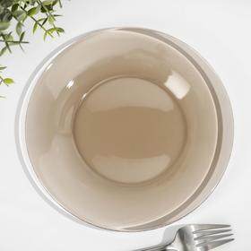 Тарелка десертная «Уоркшоп Броунз», d=20 см