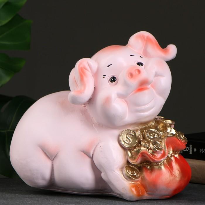 "Копилка ""Свин с деньгой"" 20х33х29см"