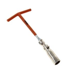 Ключ свечной, 16 мм, с шарниром SPARTA