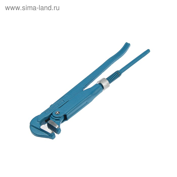 """Ключ трубный """"СИБРТЕХ"""", рычажный, №0, 5-28 мм, 90°, изогнутые губы"""