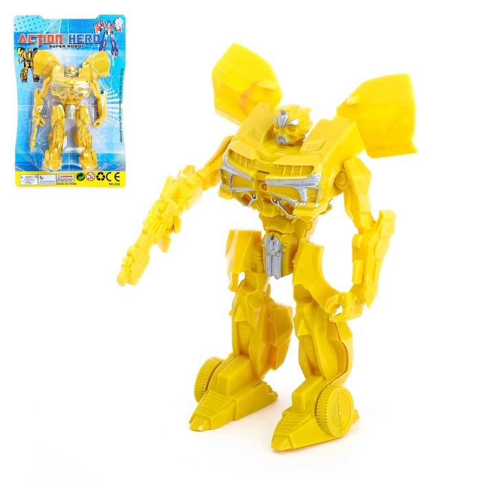 Робот Супергерой, световые эффекты, МИКС