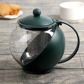 Чайник заварочный «Забота», 1,25 л, цвета МИКС Ош