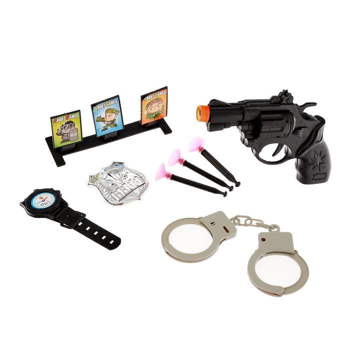 Набор полицейского Тир, 8 предметов