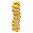 Набор карандашей чернографитных, гнущиеся, с ластиками, 5 шт., на блистере, «Полоски», МИКС
