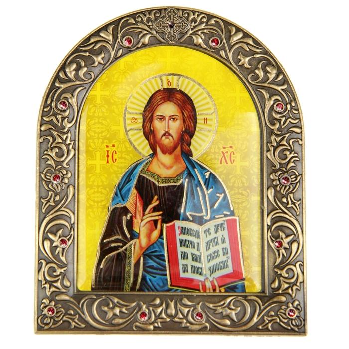 """Икона """"Господь Вседержитель"""" на подставке"""