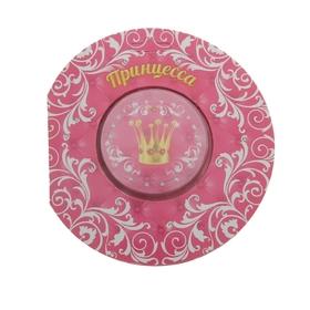 Прессованное полотенце на открытке 'Collorista' Принцесса 28х28 см, хлопок Ош