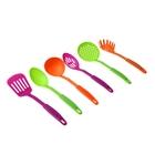"""Набор кухонных инструментов """"Радуга"""", 6 предметов на подставке, цвет МИКС - Фото 2"""